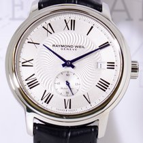 Raymond Weil Maestro Stahl Automatic Klassiker silver Dial neu...