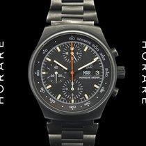 Porsche Design Black PVD Chronograph Lemania 5100 - 1980s
