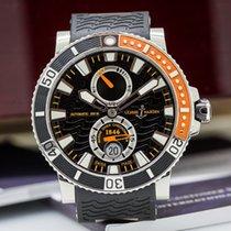 Ulysse Nardin 263-90-3/92 Marine Diver Black SS / Rubber (25126)