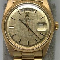 Rolex Vintage 1803 18k YG DayDate Original Swiss Bracelet