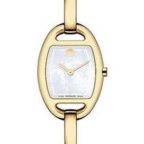 Movado Miri Gold-Tone Ladies Diamond Bangle-Style Dress Watch...