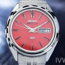 Seiko 5 Actus Day Date Mens Rare Automatic Vintage Watch Coral...