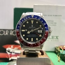 Rolex 1675 GMT Master Pepsi untouched 1978's box and...