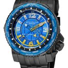 Stuhrling 319177-50 Men's Marine Worldtimer Watch