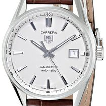 TAG Heuer CARRERA calibre  5  Automatic 39mm new white silver...