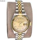"Rolex ""Lady Datejust"" Stahl Gold Diamantblatt"
