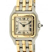 Cartier Panthère 1057917 Steel, Yellow Gold 18kt