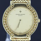 Vacheron Constantin yellow gold yellow dial, 32MM