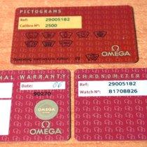 Omega kit warranty  Seamaster Planet Ocean Ref. 29005182