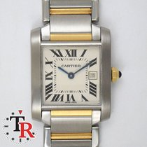 Cartier Tank Francaise Medium, box+papers