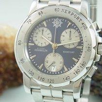 Michel Herbelin Newport Chronograph Saphir Glas Edelstahl...
