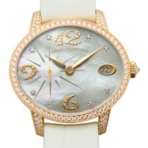 Girard Perregaux Cats Eye 18 K Rose Gold With Diamonds White...