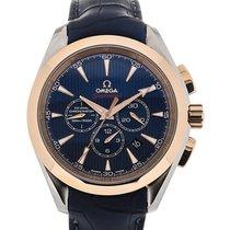 Omega Seamaster Aqua Terra 44 Blue Dial Olympic London 2012