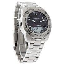 Tissot T-Touch Expert Mens Black Carbon Dial Titanium Watch...
