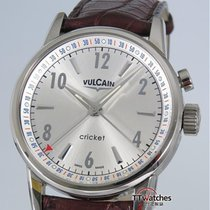 Vulcain Classic 1951 Cricket Alarm 38mm New Box Papers