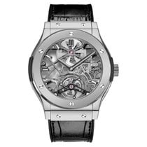 Hublot Classic Fusion 45mm Skeleton Tourbillon · 505.TX.0170.LR