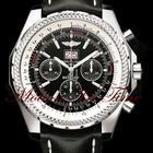 "Breitling BENTLEY MOTORS 6.75 ""BLACK"" STAINLESS..."
