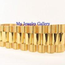 Rolex Aftermarket 18k Yellow Gold Bracelet Band for Mens...