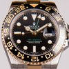 Rolex GMT MASTER II GHIERA CERAMICA ORO ACCIAIO