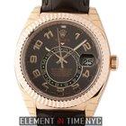 Rolex Sky-Dweller 18k Rose Gold Chocolate Dial  Ref. 326135