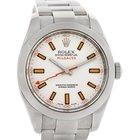 Rolex Milgauss Steel Men's Sport Watch 116400
