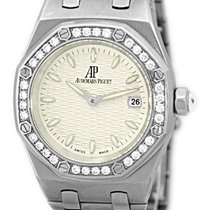 "Audemars Piguet Lady's Stainless Steel  ""Lady Diamond..."