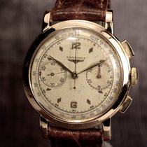 Longines Vintage 1942 18 Kt. Gold Chronograph Cal. 13.zn Rare...