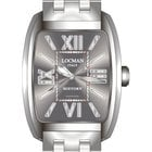 Locman History 488N00BKFNK0BR0 Steel Grey Quartz Ladies