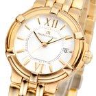Maurice Lacroix Calypso Ladies Gold Damenuhr CA1104-YP016-110-...