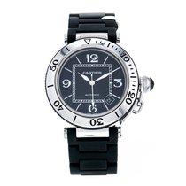 Cartier Pasha Seatimer Black Rubber Automatic Black Dial...