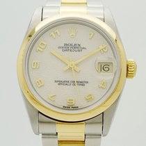 Rolex Datejust Medium 31mm Edelstahl / 750 Gold + Rlx Sonderblatt