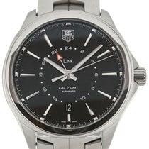 TAG Heuer Link 42 Automatic GMT Steel