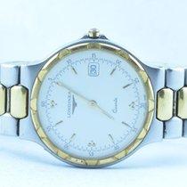 Longines Conquest Herren Uhr Quartz  Top Zustand 34mm Stahl/gold