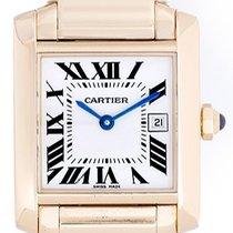 Cartier Tank Francaise Midsize 18k Yellow Gold Men's/Ladie...