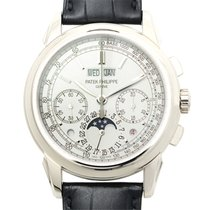 Patek Philippe New  Grand Complications 18k White Gold Silver...