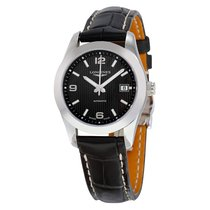 Longines Conquest Classic Black Dial Automatic Ladies Watch