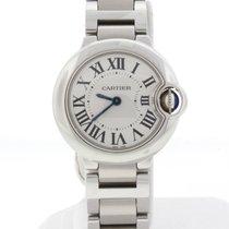 Cartier Ballon Bleu Ladies 29MM Stainless Steel Watch W69010Z4