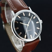 Omega Geneve Black Dial Caliber 601 aus 1964 Super Zustand