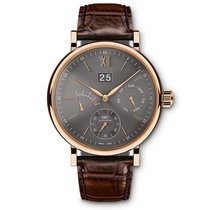 IWC Portofino Hand Wound Day Date in Rose Gold
