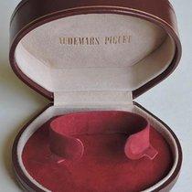 Audemars Piguet vintage watch box Reddish brown leather very nice