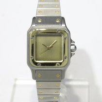 Cartier Santos 18k Yellow gold and steel Full set