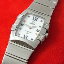 Omega Constellation Quadrella Diamonds