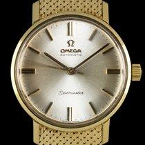Omega 18k Y/Gold Silver Dial Seamaster De Ville Auto Gents...