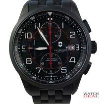 Victorinox Swiss Army Mechanical Chronograph Black Edition 241741