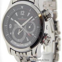 Jaeger-LeCoultre Mens Master Compressor Geographic Steel Watch...