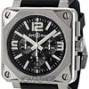 Bell &amp; Ross Chronograph Automatic Black Carbon Fibe...