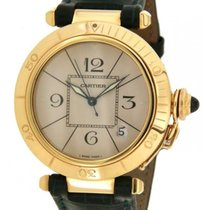 Cartier Pasha In Yellow Gold And Leather, 38mm