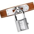 Hermès Kelly White Dial Tan Leather Ladies Watch 023728WW00