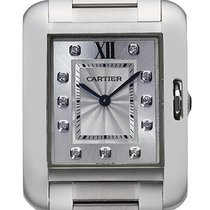 Cartier- Tank Anglaise - Mittlers Modell, Ref. W4TA0004