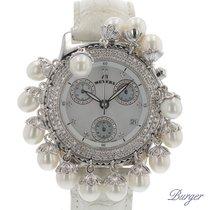 Meyers Lady Diamond Pearl Chronograph MOP Dial